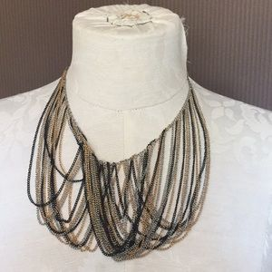 Guess necklace multi color chains
